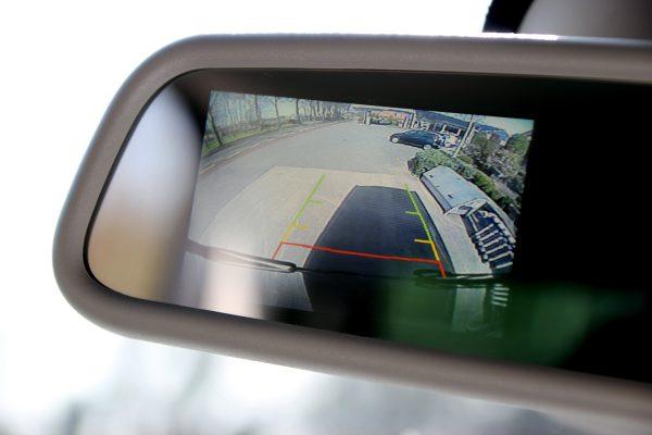 Busverhuur achteruitkijk camera